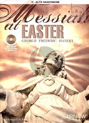 Messiah at Easter (Alto Sax.)(Bk with play-along and demo CD)