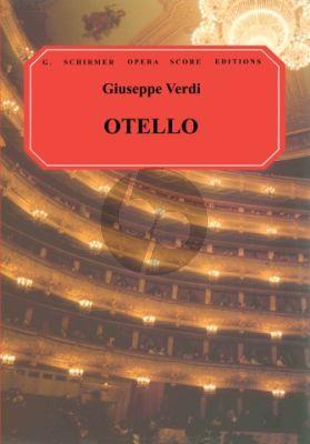 Verdi Otello Vocalscore (Ital./English)