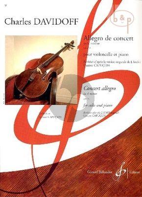 Allegro de Concert Op.11 a-minor