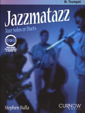 Bulla Jazzmatazz - Solos or Duets for Trumpet (Bk-Cd) (interm.)