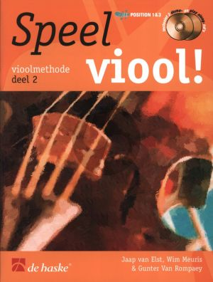 Speel Viool Vol.2 (Viool Methode) (Bk- 2 Cd's)