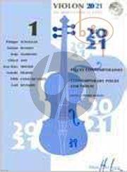Violon 20 - 21 Vol.1 (Contemporary Pieces) (1 and 2 Violins and Violin-Piano)