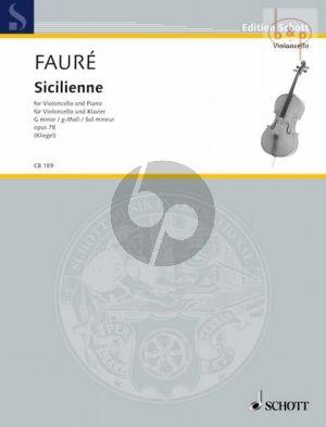 Sicilienne Op.78 g-minor