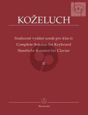 Samtliche Sonaten fur Clavier Vol.2 (No.13 - 24) (1784 - 1786)