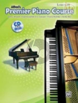 Premier Piano Course Book 2B Lesson Book