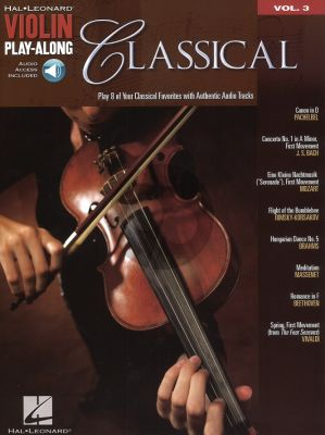 Classical Violin (Violin Play-Along Series Vol.3