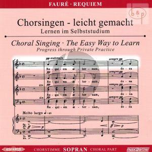 Requiem Op.48 Soprano Voice CD