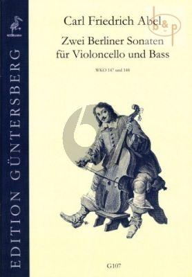 2 Berliner Sonaten (G-major WKO 147 and A-major WKO 148)