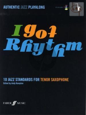 I Got Rhythm (10 Jazz Standards) (Tenor Sax.) (Bk-Cd)