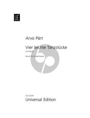 Part 4 leichte Tanzstucke (Musik fur Kindertheater) Piano