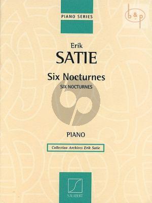 Satie 6 Nocturnes piano solo