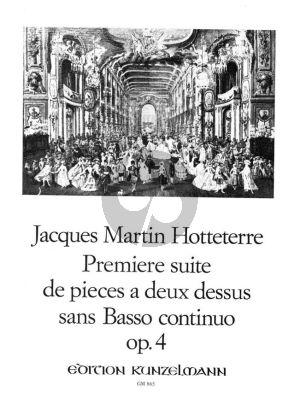 Hotteterre Premier Suite de Pieces Op. 4 2 Flutes (Paul M. Douglas)