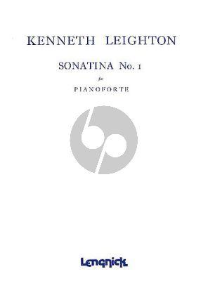 Leighton Sonatina No. 1 Piano solo