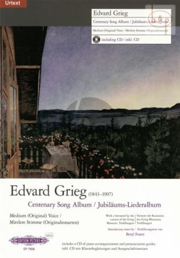 Centenary Song Album Medium[orig.]Voice (norw./engl/germ.)