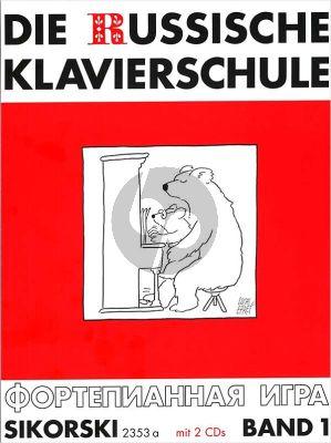 Nikolajew Die Russische Klavierschule Vol.1 (Bk- 2 CD's)