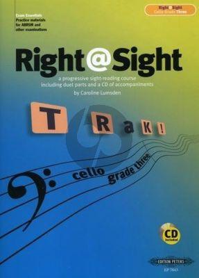 Right @ Sight Grade 3 Cello