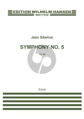 Sibelius Symphony No.5 Op.82 Full Score