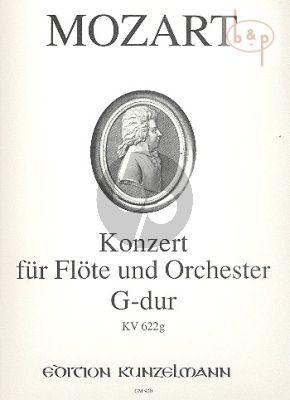 Konzert G-dur KV 622g (Flote-Orch.)