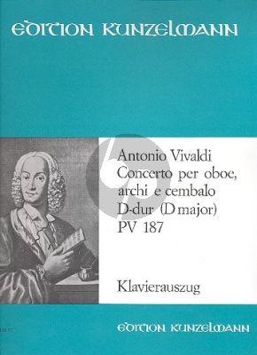 Konzert D-dur PV 187 Oboe-Streicher-Bc