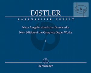 New Edition of Complete Organ Works Vol.1 The Large Partitas Op.8 No.1 - 2