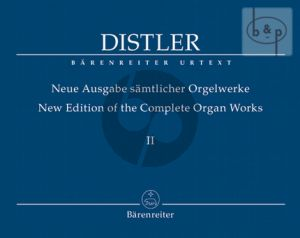 New Edition of Complete Organ Works Vol.2
