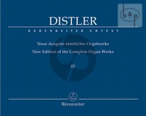 New Edition of Complete Organ Works Vol.3