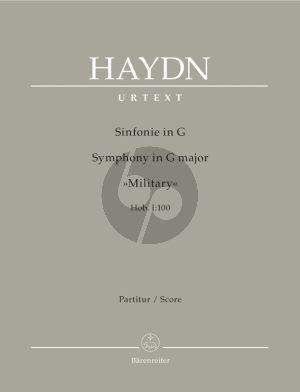 Haydn Symphony G-major Hob.I:100 (Military) Full Score