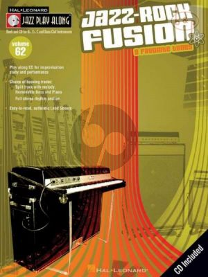 Jazz-Rock Fusion (9 Favorite Tunes) (Jazz Play-Along Series Vol.62)
