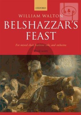 Belshazzar's Feast (Mixed Choir-Baritone Solo-Orch.)