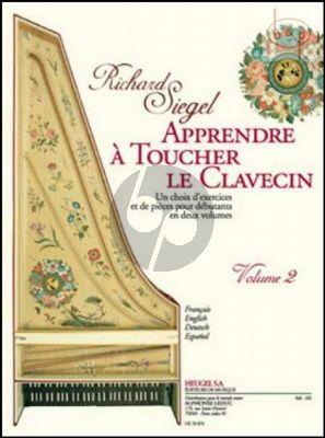 Apprendre a Toucher le Clavecin Vol.2