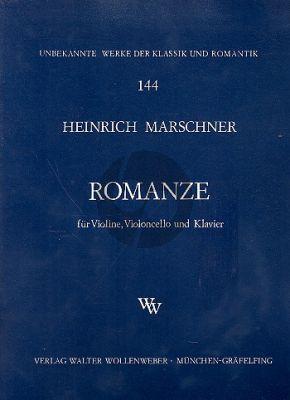 Marschner Romanze Violine-Violoncello-Klavier
