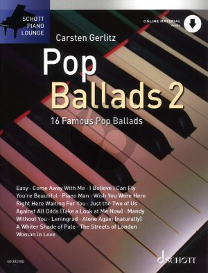 Pop Ballads Vol.2 (Bk-Online Download) (arr. C.Gerlitz)