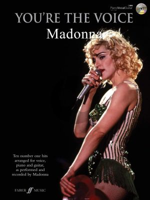 Madonna You're the Voice (10 No.1 Hits) (Piano-Vocal-Guitar) (Bk-Cd)