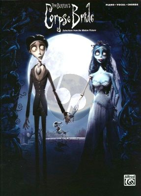 Elfman Corpse Bride Piano-Vocal-Guitar (Selections From The Motion Picture)