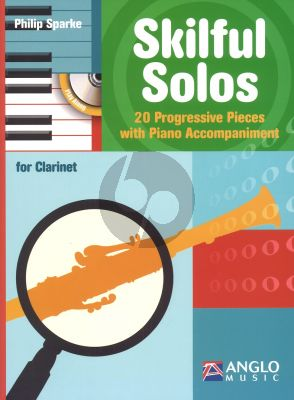 Sparke Skilful Solos Clarinet-Piano Bk-Cd (Intermediate)