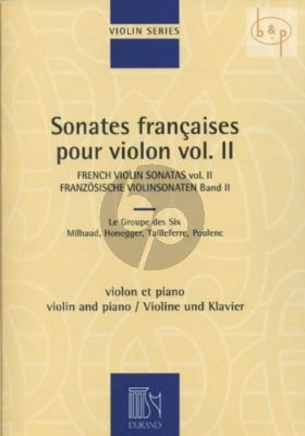 French Violin Sonatas Vol.2 Violon/Piano