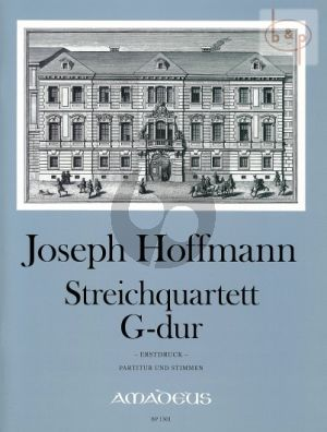 Quartet No.2 G-major (Score/Parts)