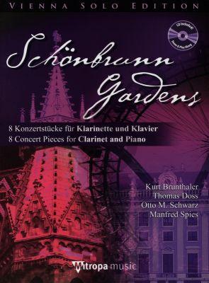Schonbrunn Gardens Klarinette und Klavier BK-Cd (8 Konzertstücke)