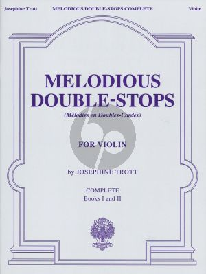 Trott Melodious Double-Stops Vol.1 - 2 Complete Violin