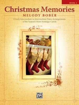 Bober Christmas Memories Vol. 1 Piano