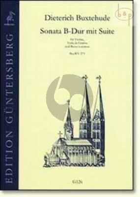 Sonata B-flat major with Suite (BuxWV 273)