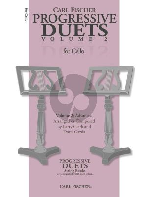 Clark-Gazda Progressive Duets Vol.2 2 Violoncellos (Advanced)