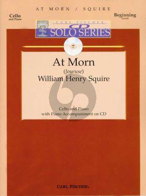 Squire At Morn (Joyeuse) Violoncello-Piano (Bk-Cd)