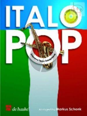 Album Italo Pop Alto Saxophone (Bk-Cd) (Play-Along with Demo) (arr. M. Schenk) (easy to intermediate Grade 3)