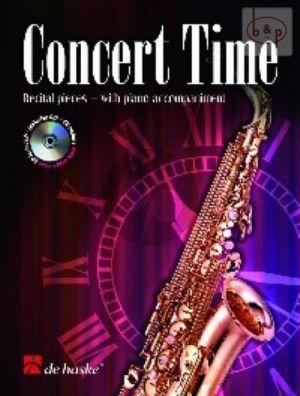 Concert Time (Alto Sax.-Piano) (Bk-Cd)