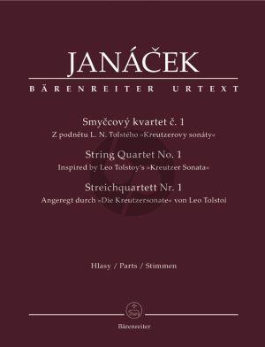 Janacek Quartet No.1 String Quartet (Parts) (Inspired by Leo Tolstoi's Kreutzer Sonata) (edited by L.Faltus & M.Stedron)