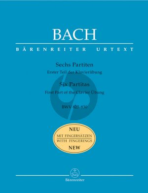 6 Partitas (BWV 825 - 830) (edition with Fingering by Ragna Schirmer)