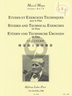 Etudes et Exercises Techniques pour Flute