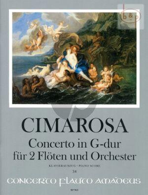 Concerto G-major (2 Flutes-Orch.)