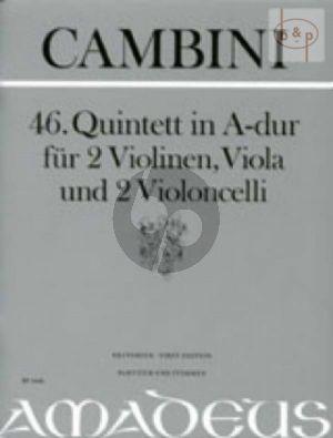 Quintet No.46 A-major (Score/Parts)